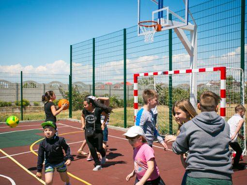 Торжественное открытие детской площадки 2017